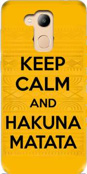 Keep Calm And Hakuna Matata Case for Honor 6c Pro / Huawei V9 Play