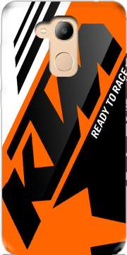 KTM Racing Orange And Black Case for Honor 6c Pro / Huawei V9 Play
