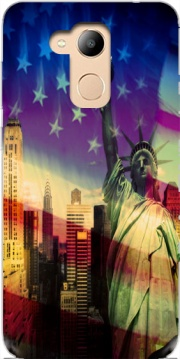 Statue of Liberty Case for Honor 6c Pro / Huawei V9 Play