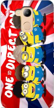 Minions mashup One Direction 1D Case for Honor 6c Pro / Huawei V9 Play