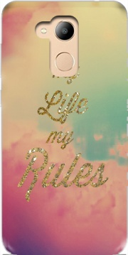 My life My rules Case for Honor 6c Pro / Huawei V9 Play