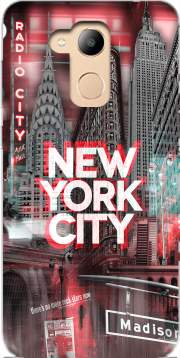 New York City II [red] Case for Honor 6c Pro / Huawei V9 Play