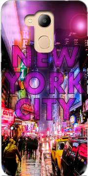 New York City - Broadway Color Case for Honor 6c Pro / Huawei V9 Play