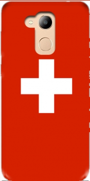 Switzerland Flag Case for Honor 6c Pro / Huawei V9 Play