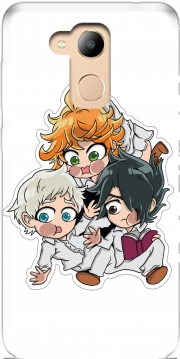 The Promised Neverland Emma Ray Norman Chibi Honor 6c Pro / Huawei V9 Play Case