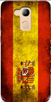 Flag Spain Vintage Case for Honor 6c Pro / Huawei V9 Play