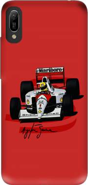 Ayrton Senna Formule 1 King Case for Huawei Y6 2019