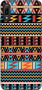 aztec pattern red Tribal for Huawei Y6 2019