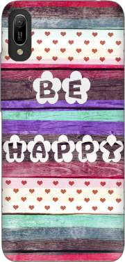 Be Happy Hippie Case for Huawei Y6 2019