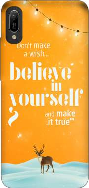 Believe in yourself Huawei Y6 2019 Case