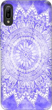 Bohemian Flower Mandala in purple Case for Huawei Y6 2019