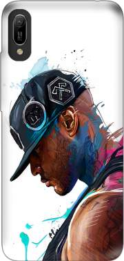 Booba Fan Art Rap Case for Huawei Y6 2019