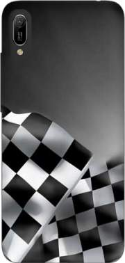 Checkered Flags Case for Huawei Y6 2019