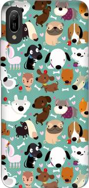 Dogs Case for Huawei Y6 2019