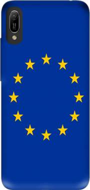 Europeen Flag Case for Huawei Y6 2019