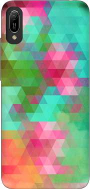 Exotic Triangles Case for Huawei Y6 2019