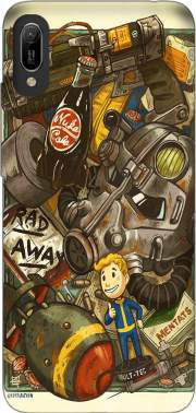 Fallout Painting Nuka Coca for Huawei Y6 2019