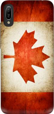 Canadian Flag Vintage Case for Huawei Y6 2019