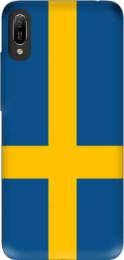 Flag Sweden Case for Huawei Y6 2019