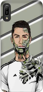 Football Legends: Cristiano Ronaldo - Real Madrid Robot Case for Huawei Y6 2019