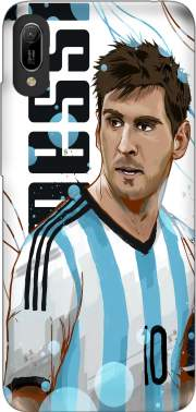 Football Legends: Lionel Messi World Cup 2014 Case for Huawei Y6 2019