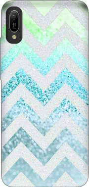 FUNKY CHEVRON BLUE Case for Huawei Y6 2019