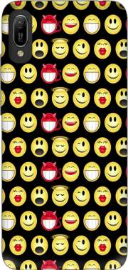 funny smileys Case for Huawei Y6 2019
