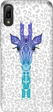 Giraffe Purple Case for Huawei Y6 2019