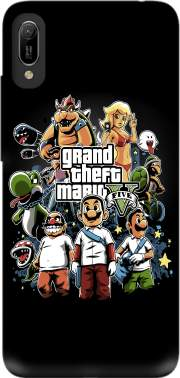 Grand Theft Mario Case for Huawei Y6 2019