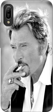 johnny hallyday Smoke Cigare Hommage Case for Huawei Y6 2019