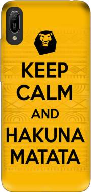 Keep Calm And Hakuna Matata Case for Huawei Y6 2019