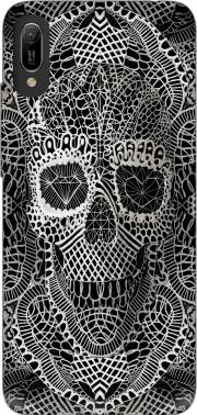 Lace Skull Case for Huawei Y6 2019