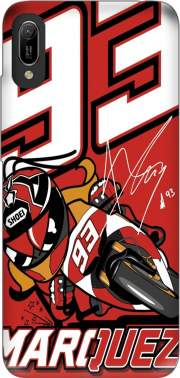 Marc marquez 93 Fan honda Case for Huawei Y6 2019