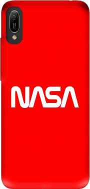 Nasa Red Logo Fail Case for Huawei Y6 2019