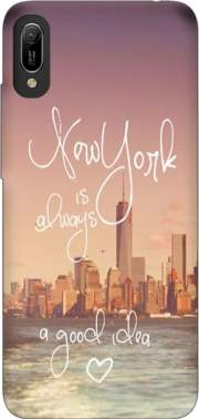 Always New York Case for Huawei Y6 2019