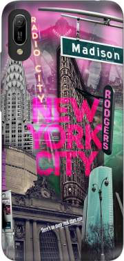 New York City II [pink] Case for Huawei Y6 2019