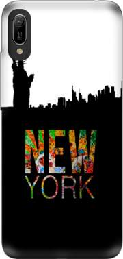 New York Case for Huawei Y6 2019