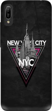NYC V [pink] Case for Huawei Y6 2019
