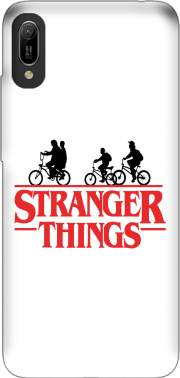 Stranger Things by bike Case for Huawei Y6 2019