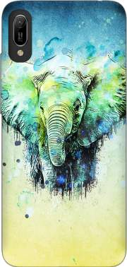 watercolor elephant Huawei Y6 2019 Case