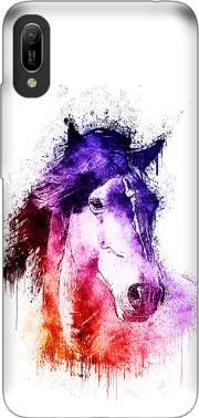 watercolor horse Huawei Y6 2019 Case