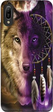 Wolf Dreamcatcher Huawei Y6 2019 Case