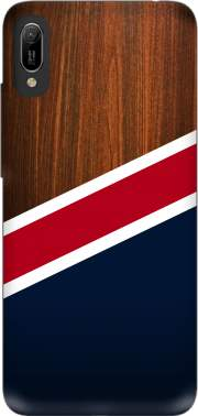 Wooden New England Case for Huawei Y6 2019