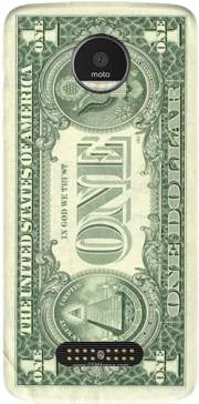 Money One Dollar Case for Motorola Moto Z Force divider product 670617ce00