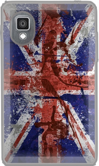 Case LG L4 II E440 with pictures flag