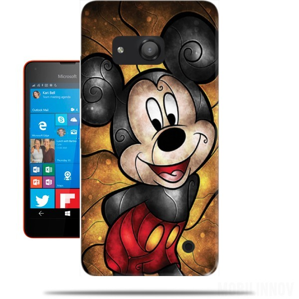 Mouse of the house microsoft lumia 550 case wallet case for Housse lumia 550