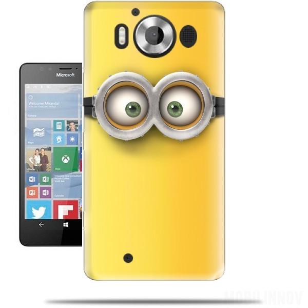 minion 3d Microsoft Lumia 950 Case - Wallet Case