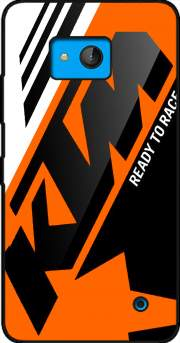 KTM Racing Orange And Black Case for Microsoft Lumia 640