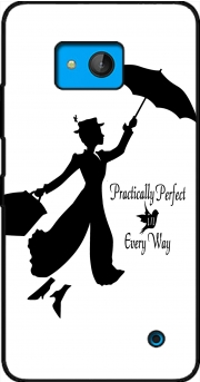 Mary Poppins Perfect in every way Case for Microsoft Lumia 640