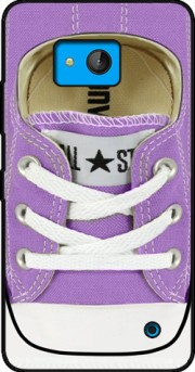 All Star Basket shoes purple Case for Microsoft Lumia 640